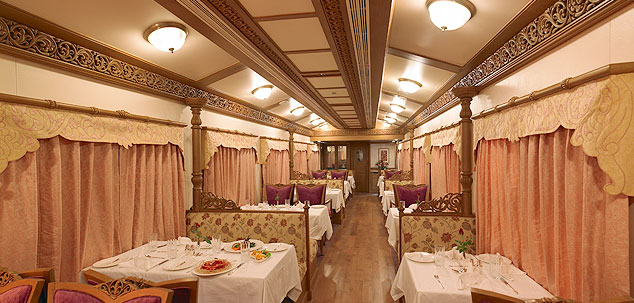 Golden Chariot dining